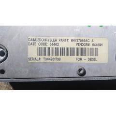 Centralita Módulo FCM Control de la Bomba Inyectora de Chrysler